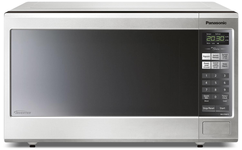 Panasonic Genius® 1.2 Cu. Ft. Countertop Microwave – NNST681SC