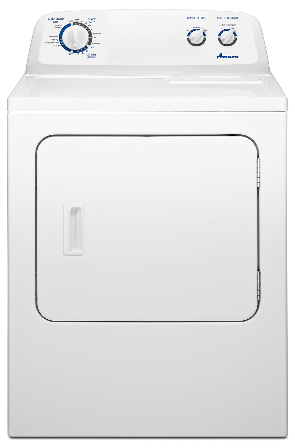 Amana 7.0 Cu. Ft. Electric Dryer with Cool Down Cycle – YNED4755EW