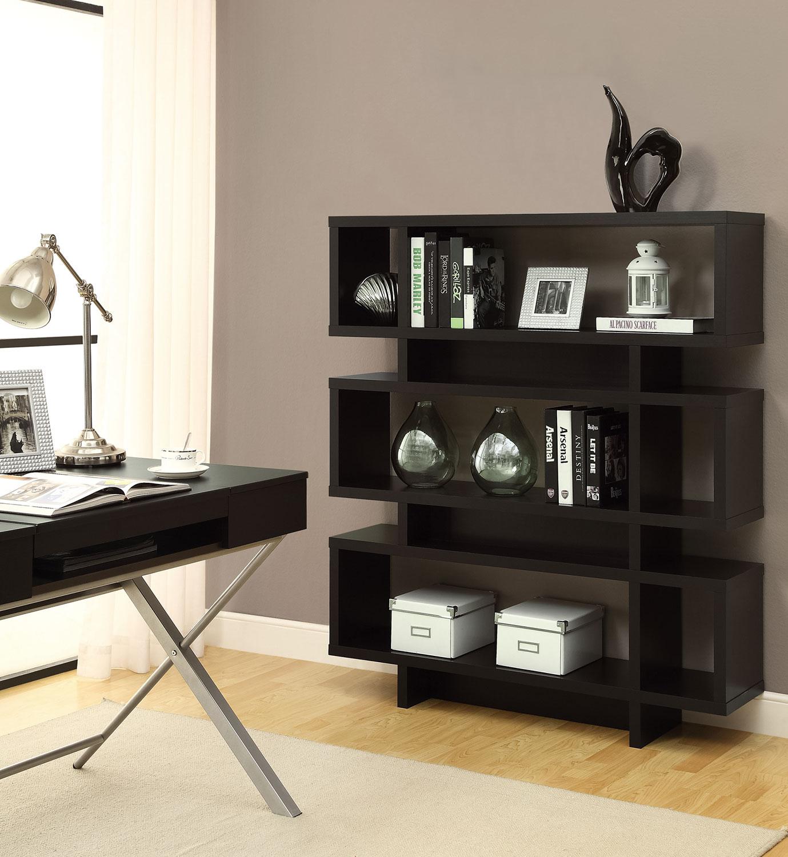 Zoe Bookcase - Cappuccino