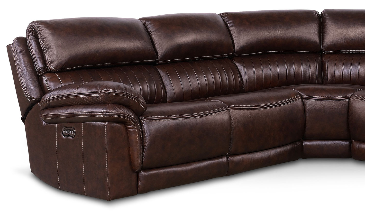 Monterey 5 piece power reclining sectional chocolate for 5 piece reclining sectional sofa
