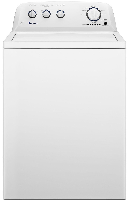 Amana 4.1 Cu. Ft. High-Efficiency Top-Load Washer – NTW4705EW