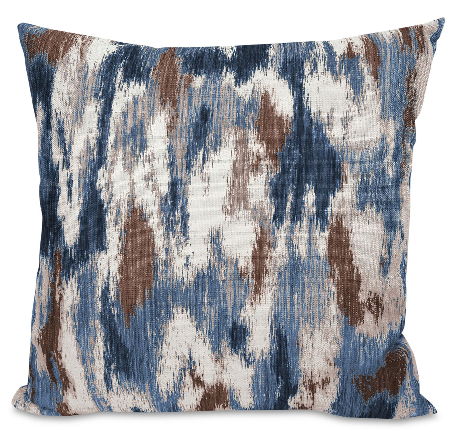 Accent and Occasional Furniture - Rain Accent Pillow – Blue, Yellow and Ivory