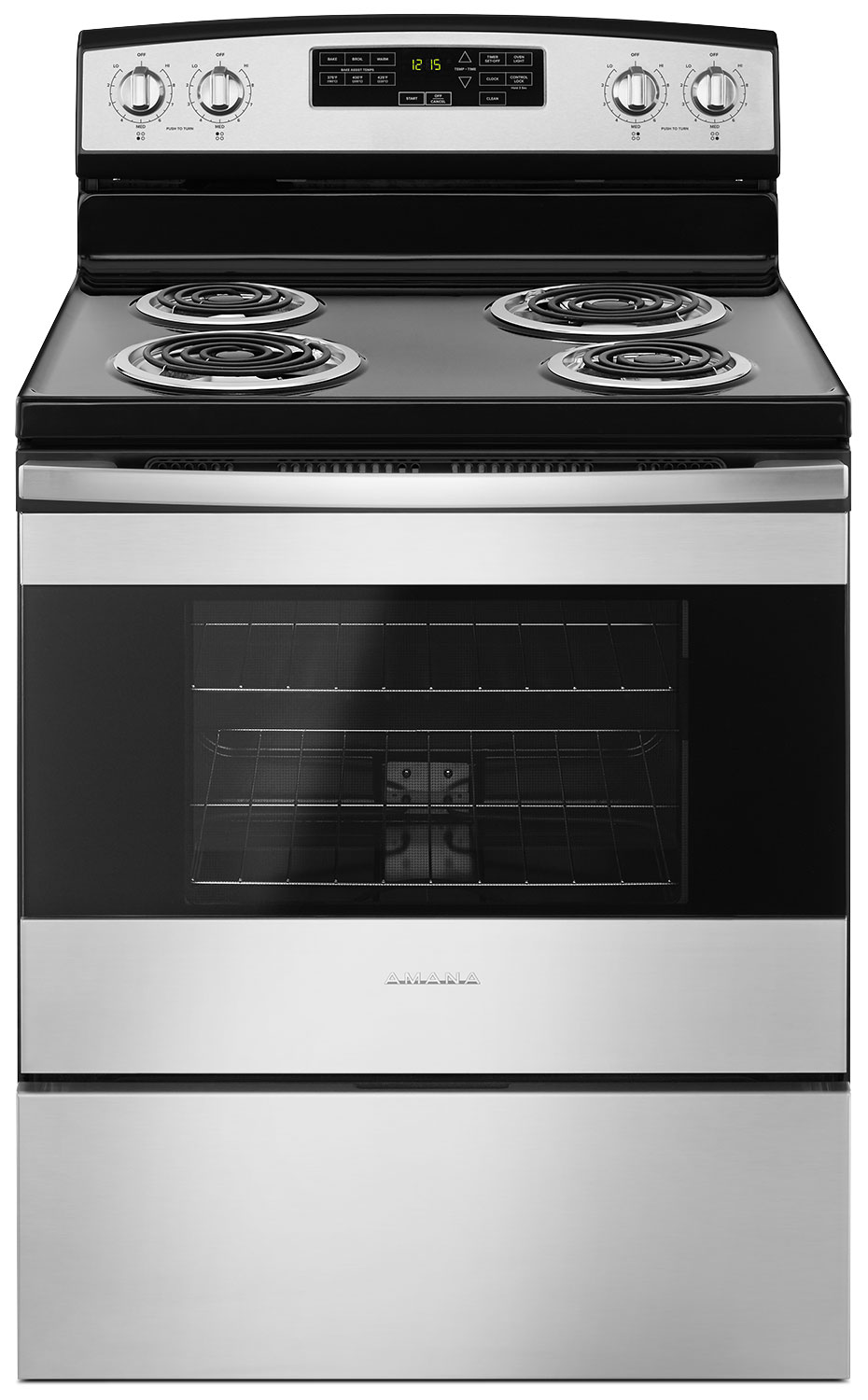 Amana 4.8 Cu. Ft. Freestanding Electric Range – YACR4503SFS