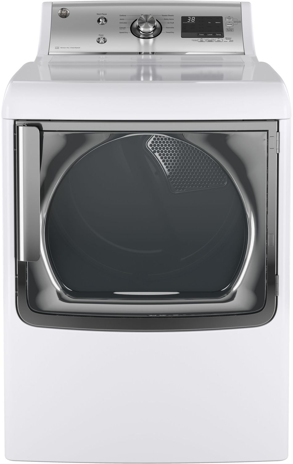 Washers and Dryers - GE 7.8 Cu. Ft. High-Efficiency Gas Dryer – GTD81GSMJWS