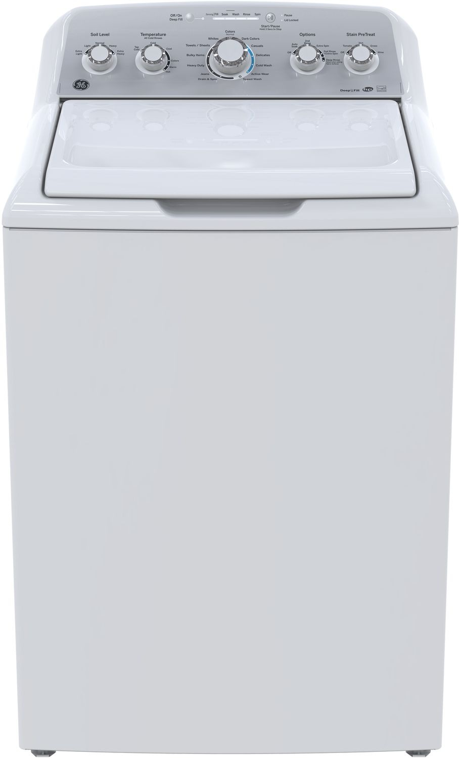 GE 4.9 Cu. Ft. Top-Load Washer – GTW485BMKWS