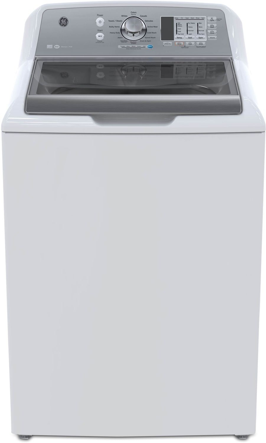 GE 5.3 Cu. Ft. Top-Load Washer – GTW680BMKWS