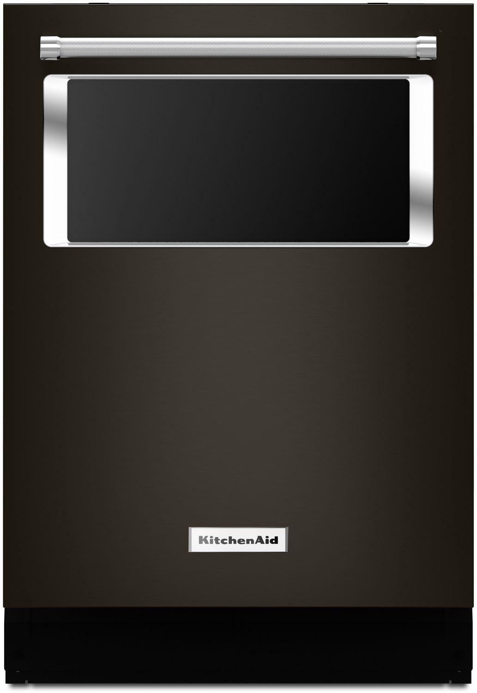 Nettoyage - Lave-vaisselle encastré KitchenAid avec hublot – KDTM384EBS