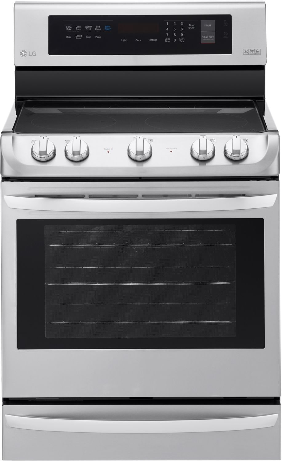 LG 6.3 Cu. Ft.  Freestanding Electric Range with ProBake Convection™ – LRE4213ST