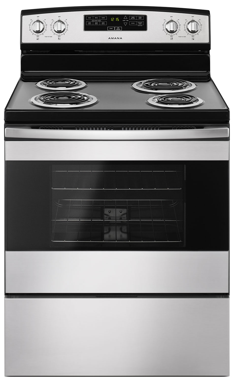 Amana 4.8 Cu. Ft. Freestanding Electric Range – YACR4303MFS