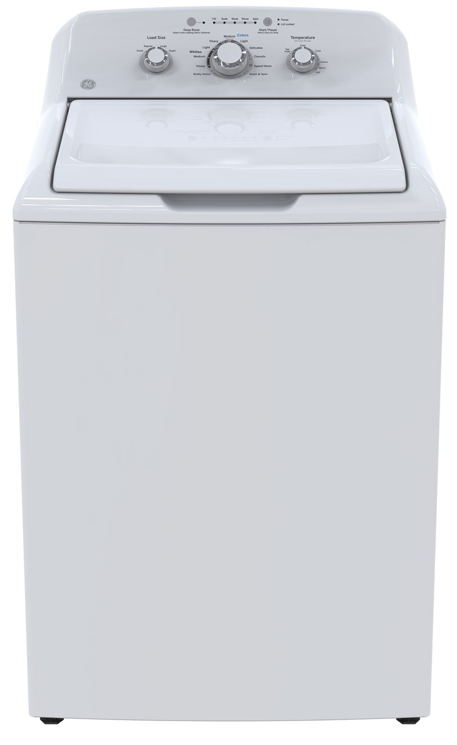 GE 4.4 Cu. Ft. Top-Load Washer – GTW330BMKWW