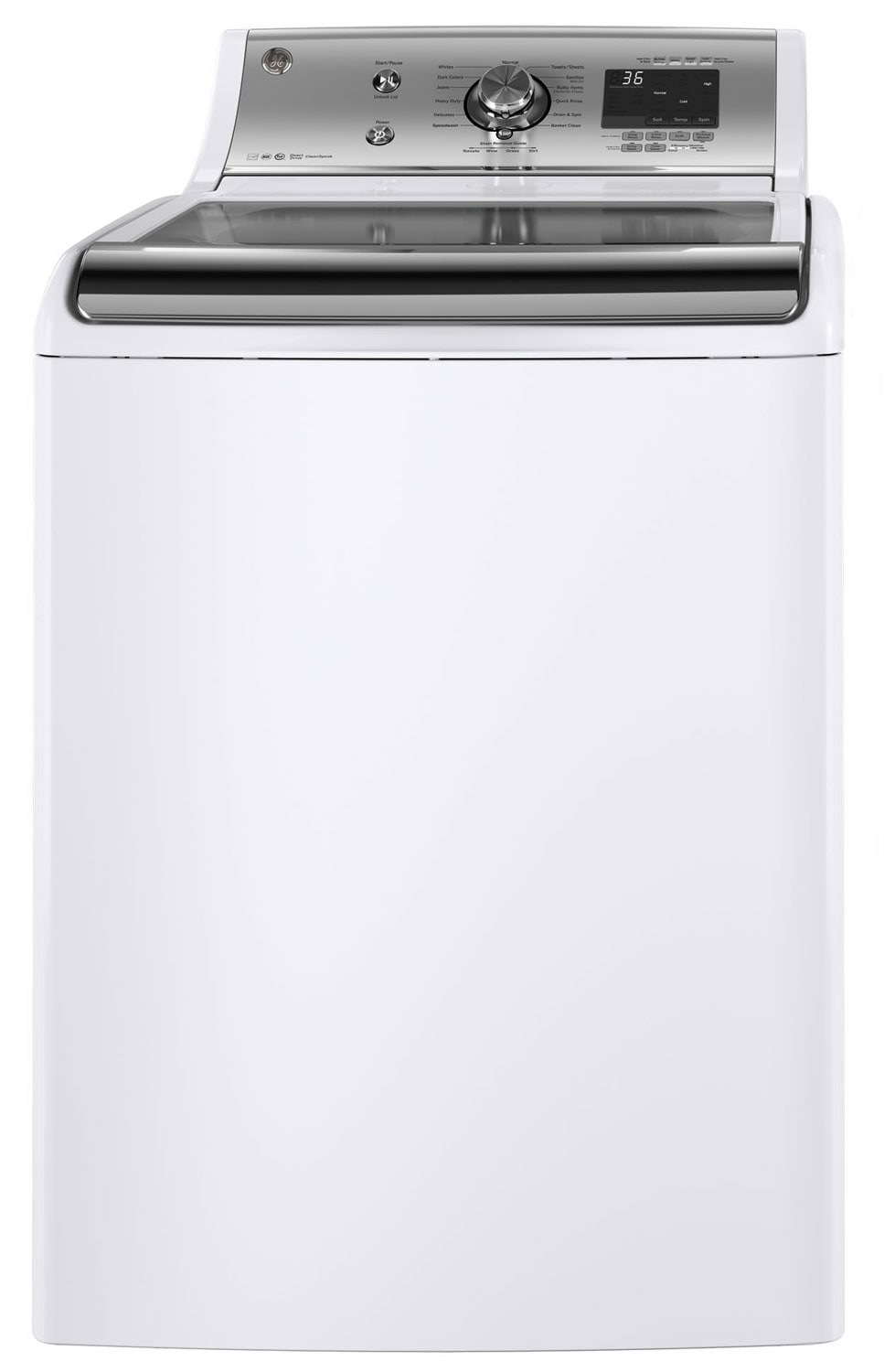 GE 5.9 Cu. Ft. Top-Load Washer – GTW810SSJWS