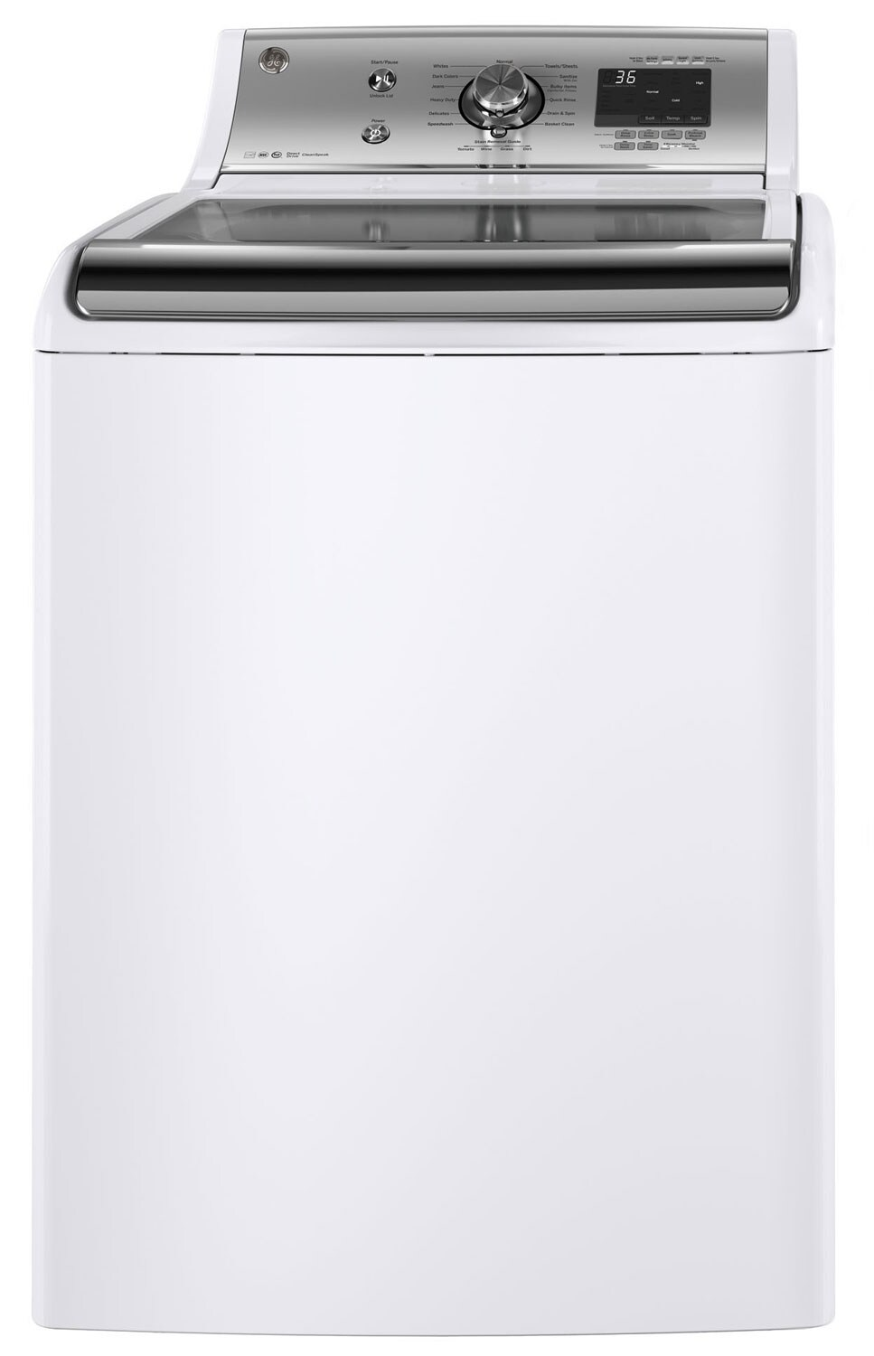 Washers and Dryers - GE 5.9 Cu. Ft. Top-Load Washer – GTW810SSJWS