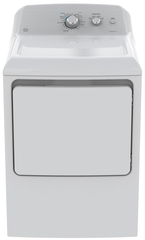 GE 7.2 Cu. Ft. Gas Dryer – GTD40GBMKWW