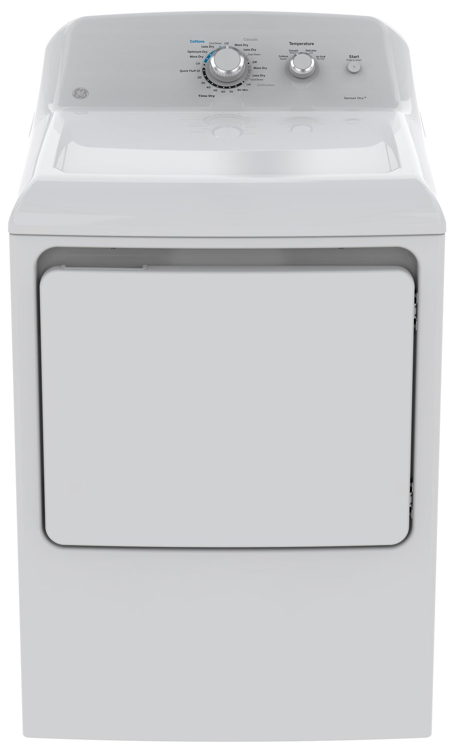 Washers and Dryers - GE 7.2 Cu. Ft. Electric Dryer – GTD40EBMKWW