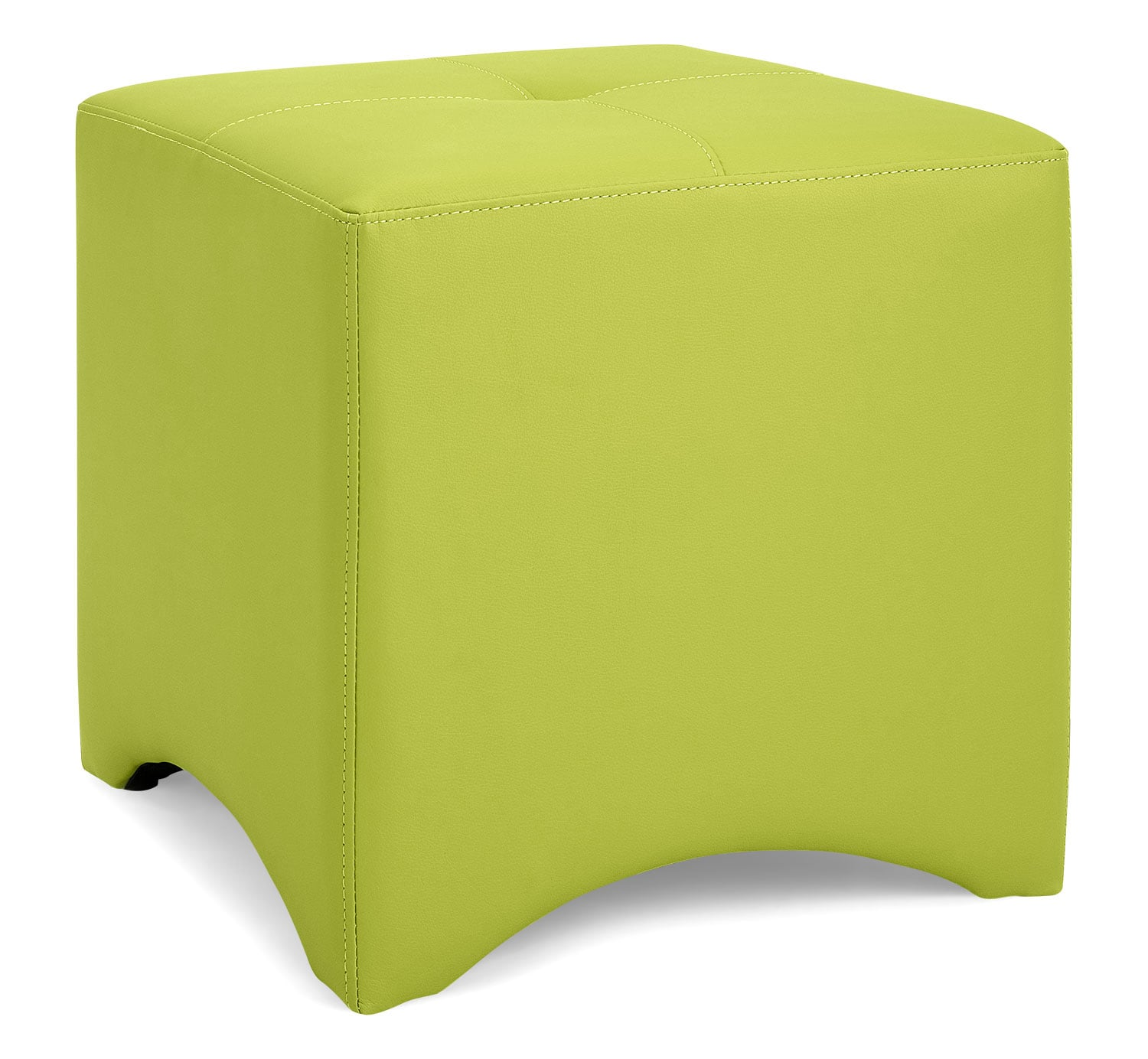 Lux Ottoman – Lime Green