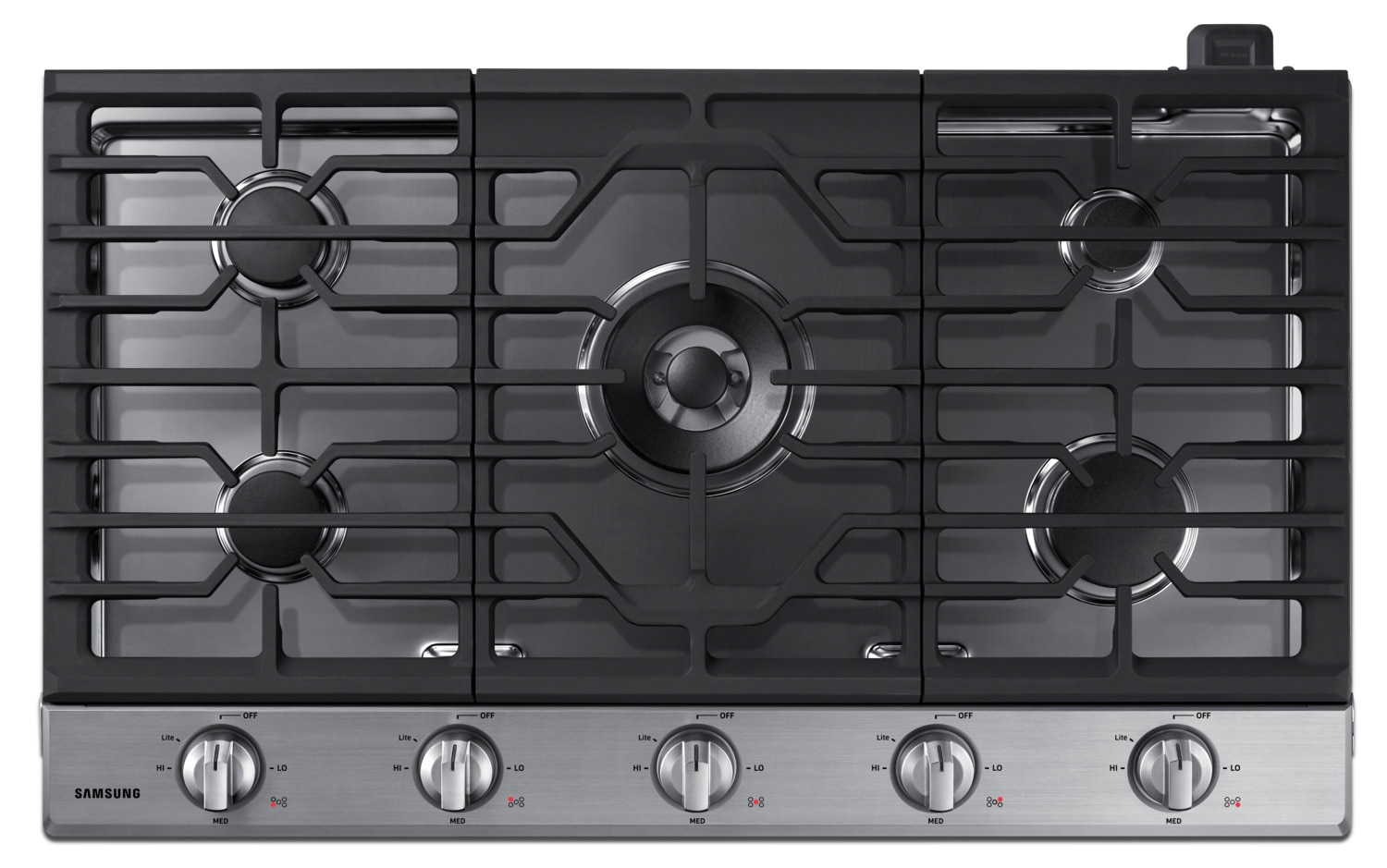 "Samsung 36"" Gas Cooktop with Dual Burner – NA36K6550TS"