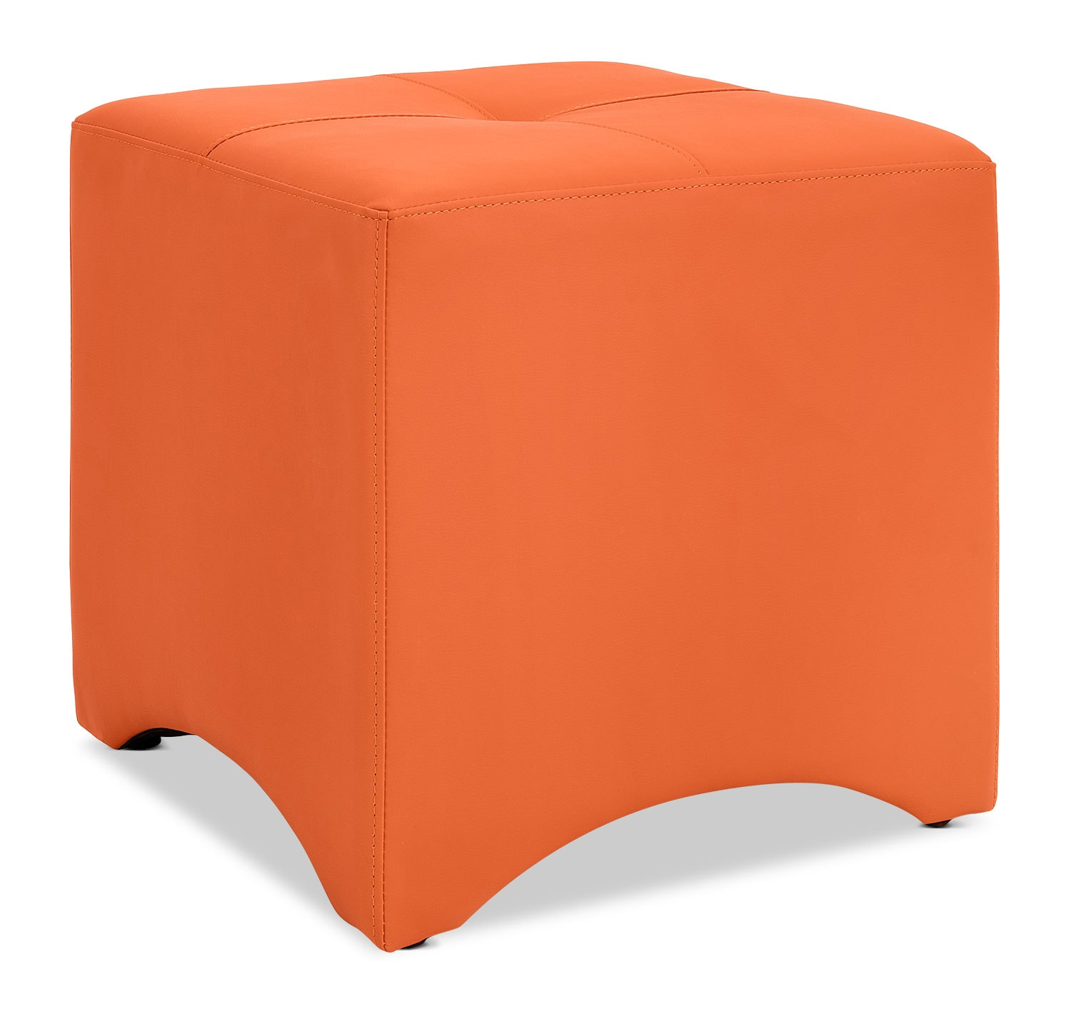 Briel Ottoman – Orange
