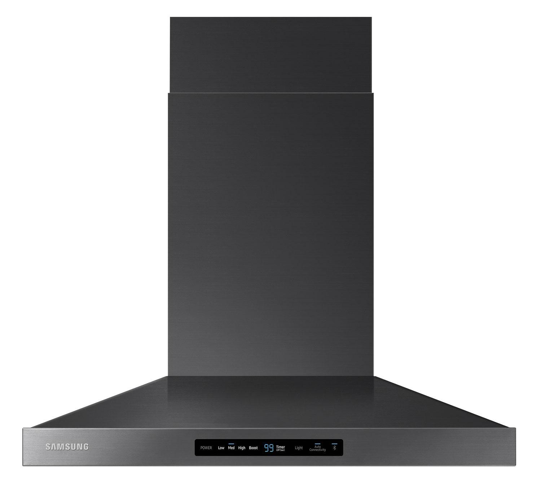 "Samsung 30"" Wall-Mount Range Hood with Bluetooth – NK30K7000WG"