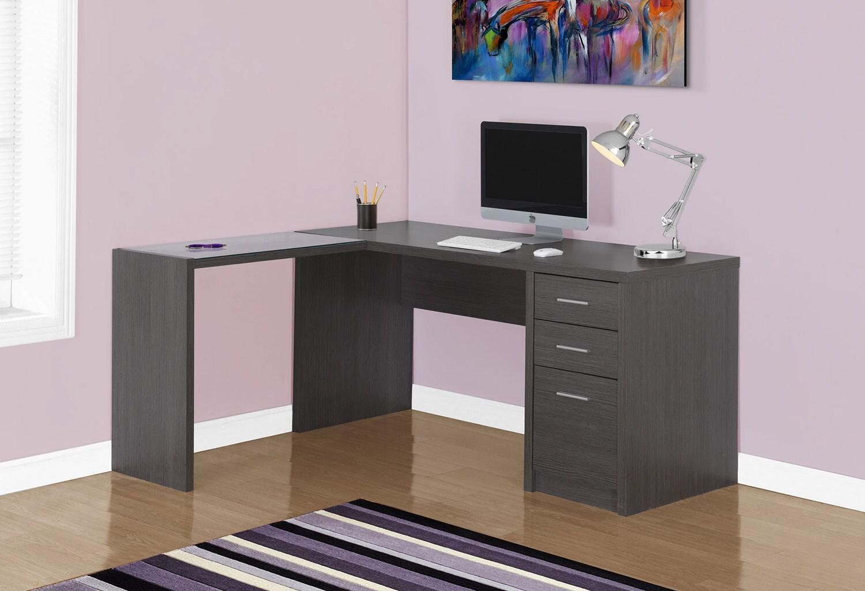 Pascal Corner Desk - Grey