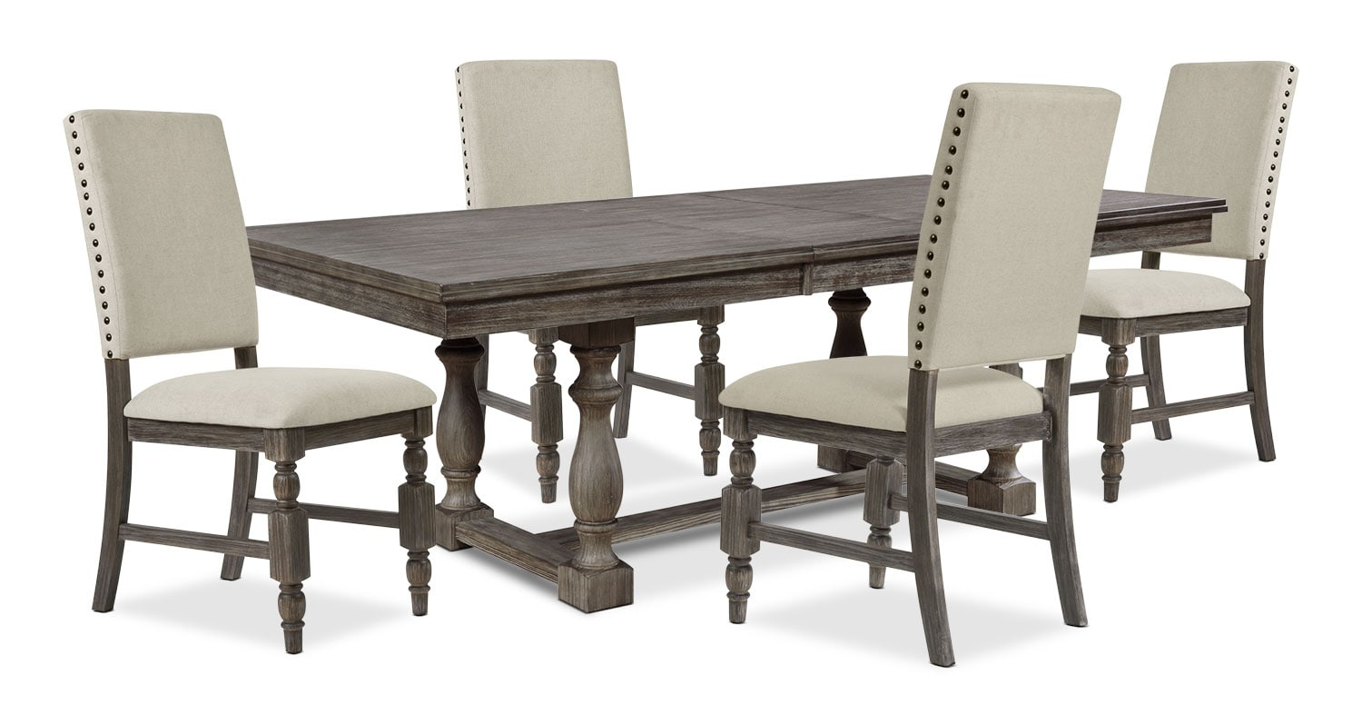 Dining Room Furniture - Aspen 5-Piece Dining Package