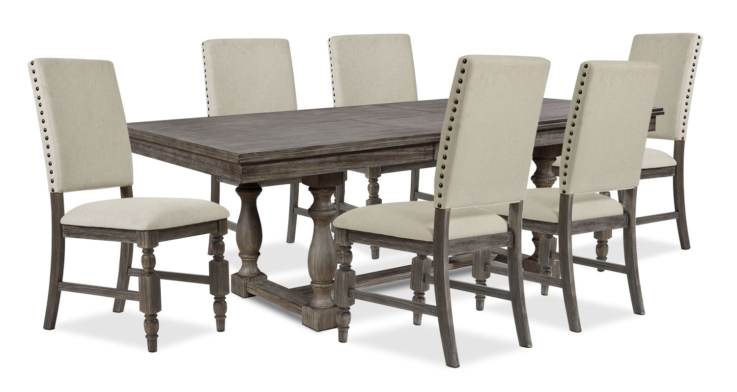 Dining Room Furniture - Aspen 7-Piece Dining Package