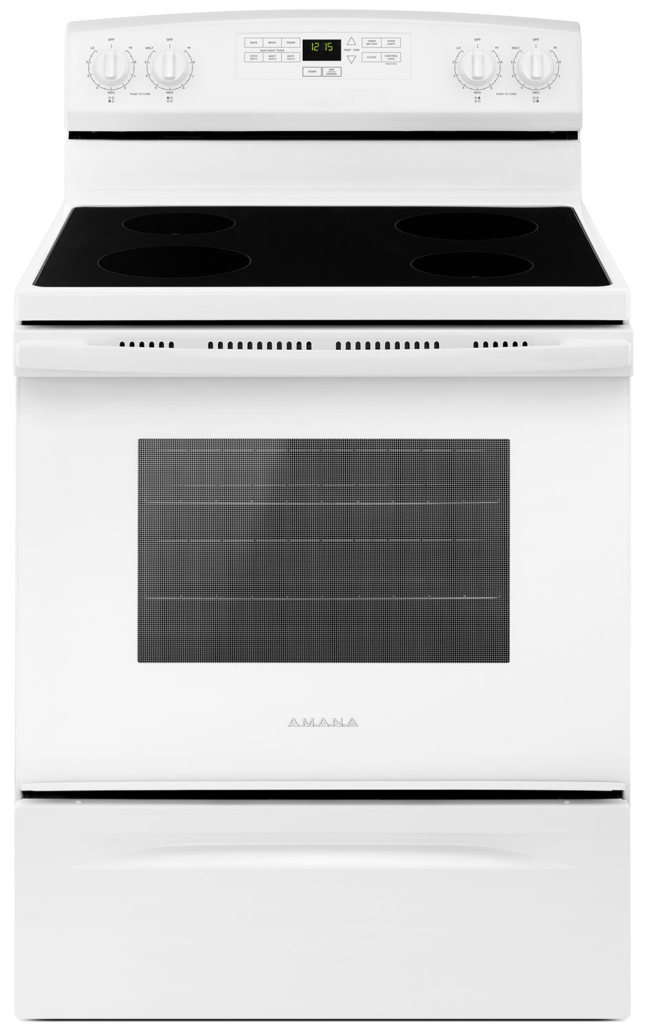 Amana 4.8 Cu. Ft. Freestanding Electric Range – YAER6303MFW