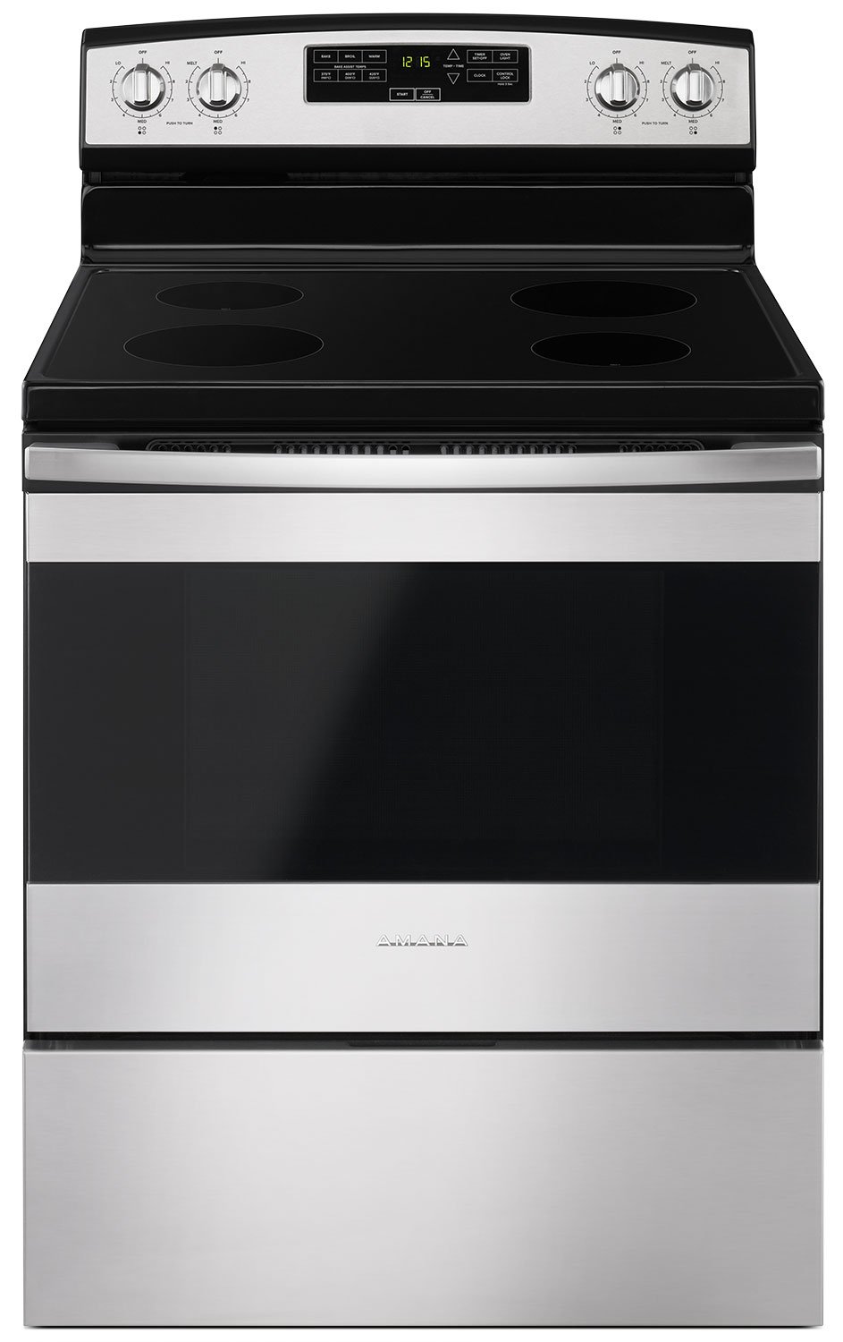 Amana 4.8 Cu. Ft. Freestanding Electric Range – YAER6303MFS