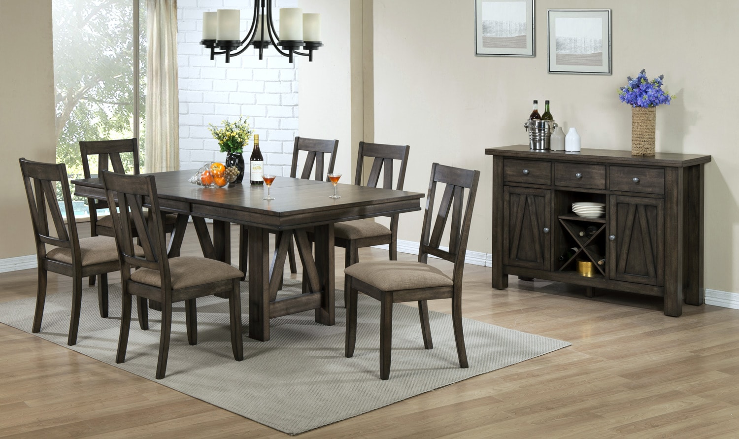 Dining room collections dining sets canada leon 39 s for Dining room tables victoria bc