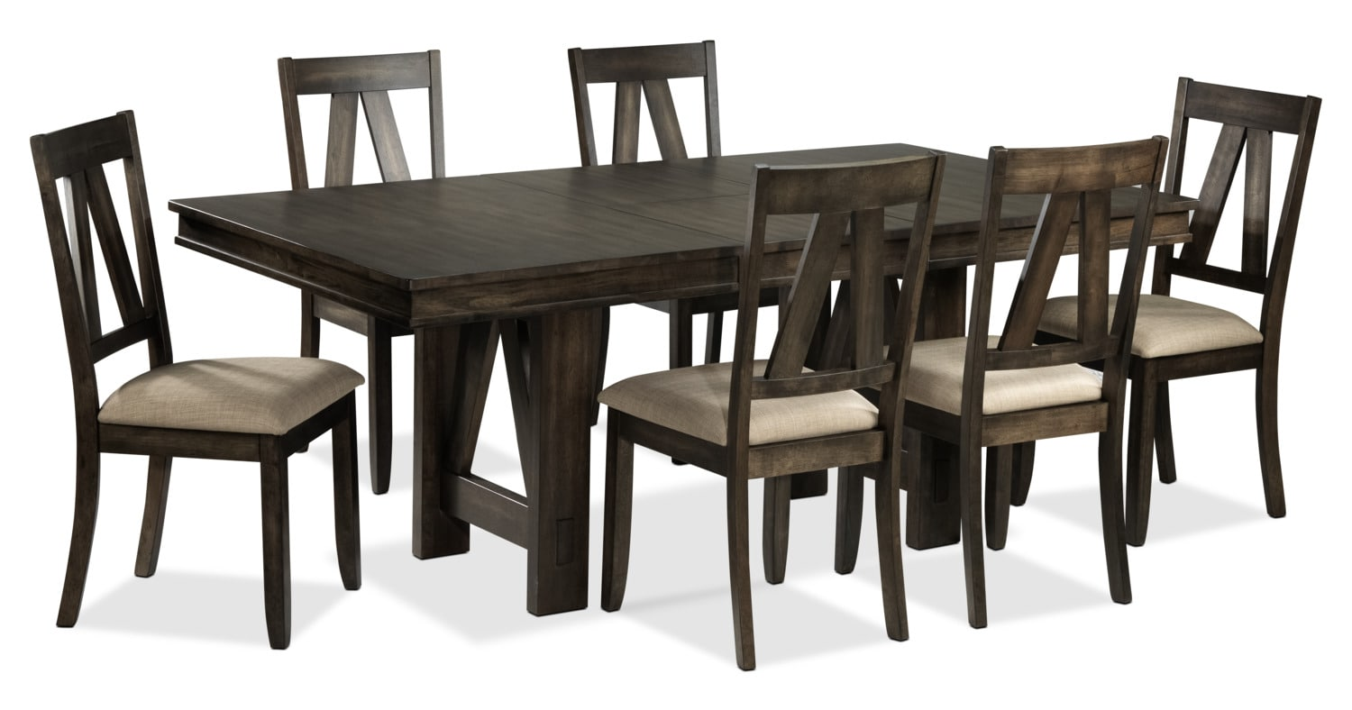 Thompson 7-Piece Dining Room Set - Espresso