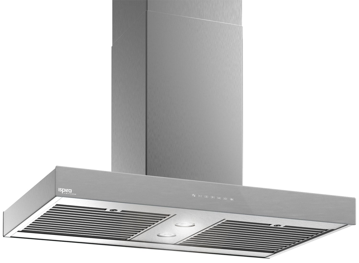 "Venmar Ispira 36"" Island Range Hood – Brushed Grey Panel IS70036SS"
