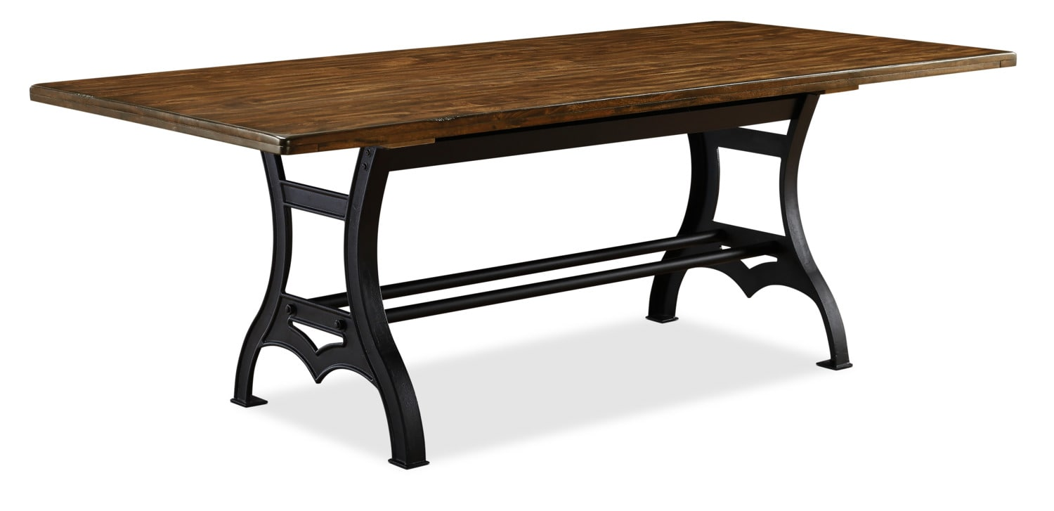 Alpine dining table the brick for Dining room tables the brick