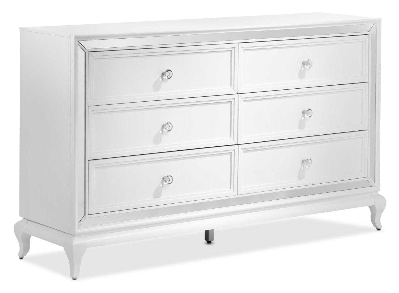 Arctic Ice Dresser - White