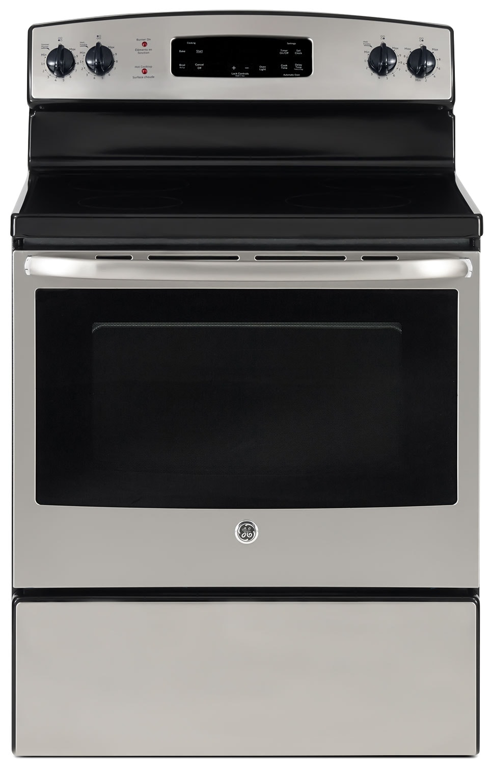 GE 5.0 Cu. Ft. Freestanding Electric Range – JCBS630SJSS