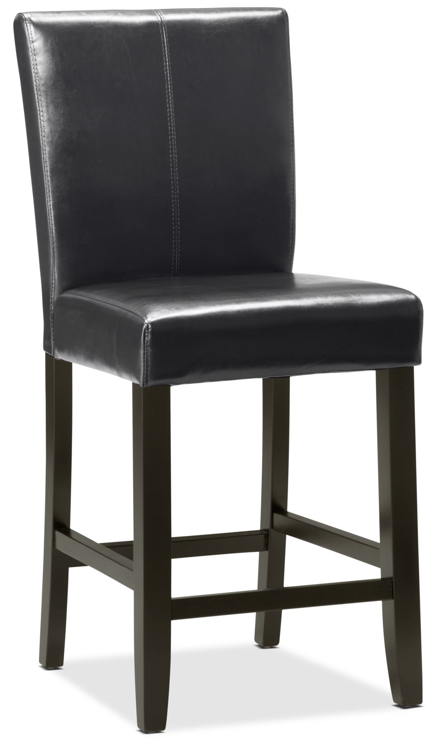 Black counter height dining chair the brick for Dining room tables the brick