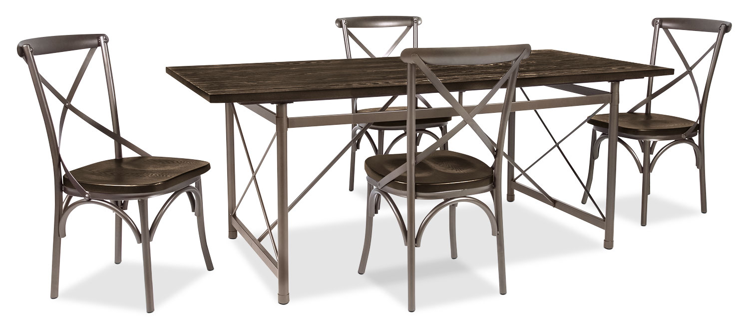 Dining Room Furniture - Cassidy 5-Piece Dining Package