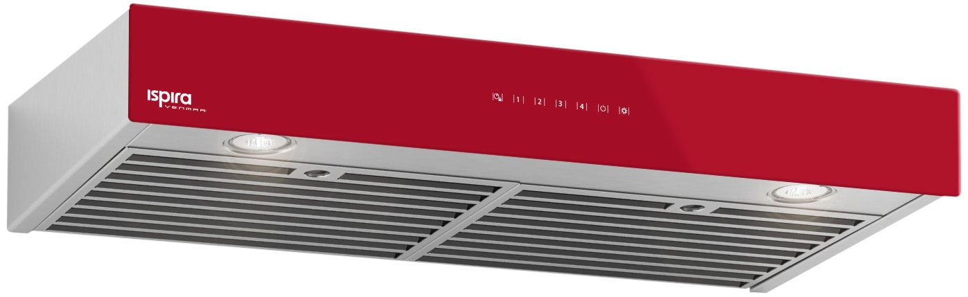 "Venmar 36"" Under-Cabinet Range Hood – Red"