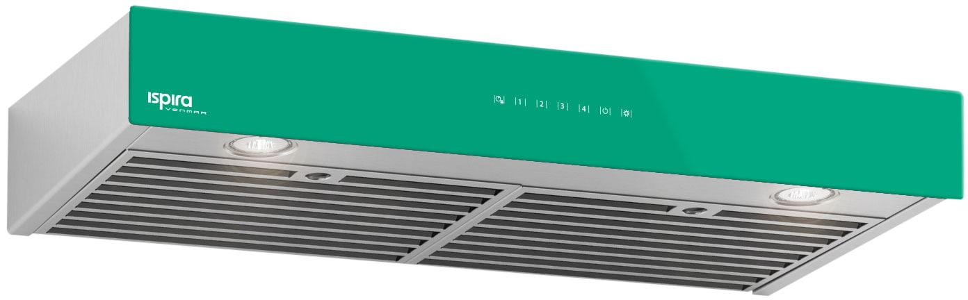 "Venmar 36"" Under-Cabinet Range Hood – Emerald Green"