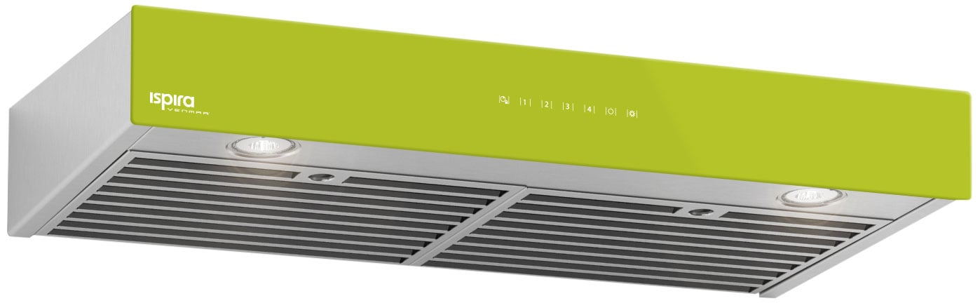 "Venmar 36"" Under-Cabinet Range Hood – Lime Green"