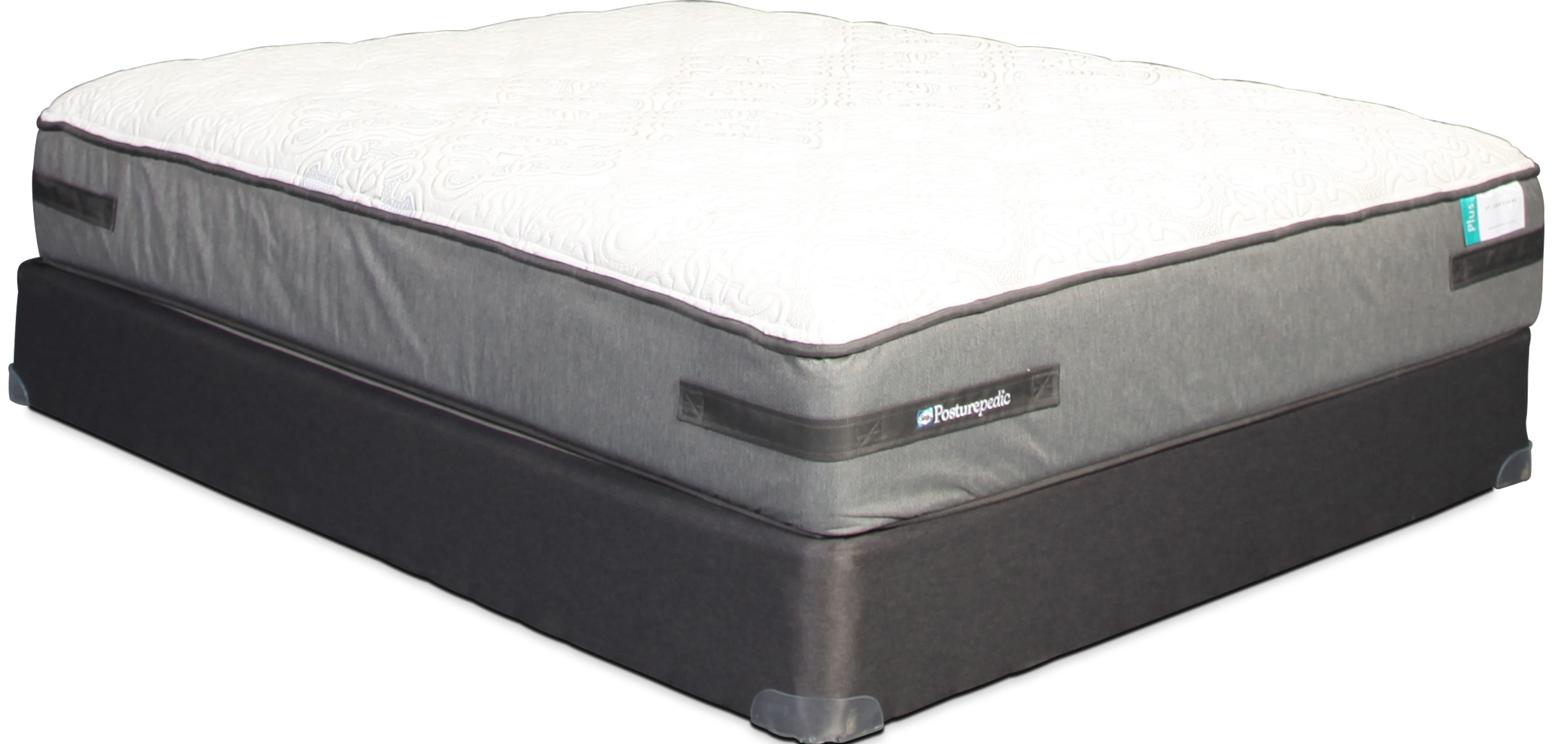 Sealy St. James Park Cushion Firm King Mattress and Split Boxsprings