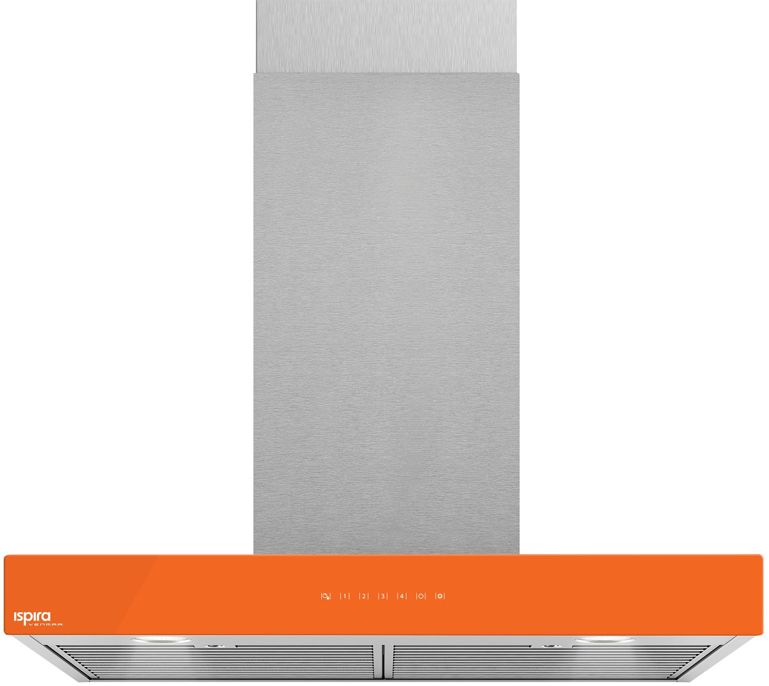 "Venmar Ispira 30"" Chimney Range Hood – Orange"