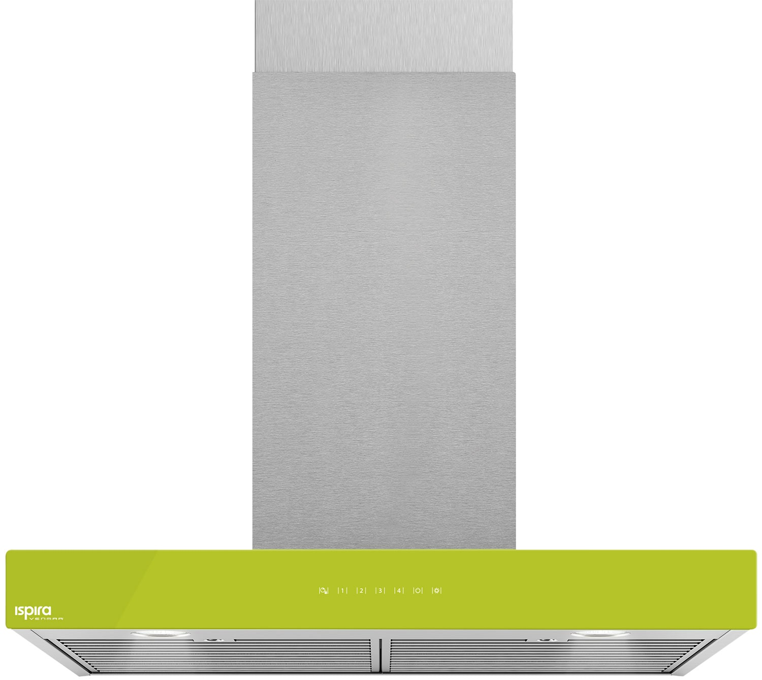 "Venmar Ispira 30"" Chimney Range Hood – Lime Green"
