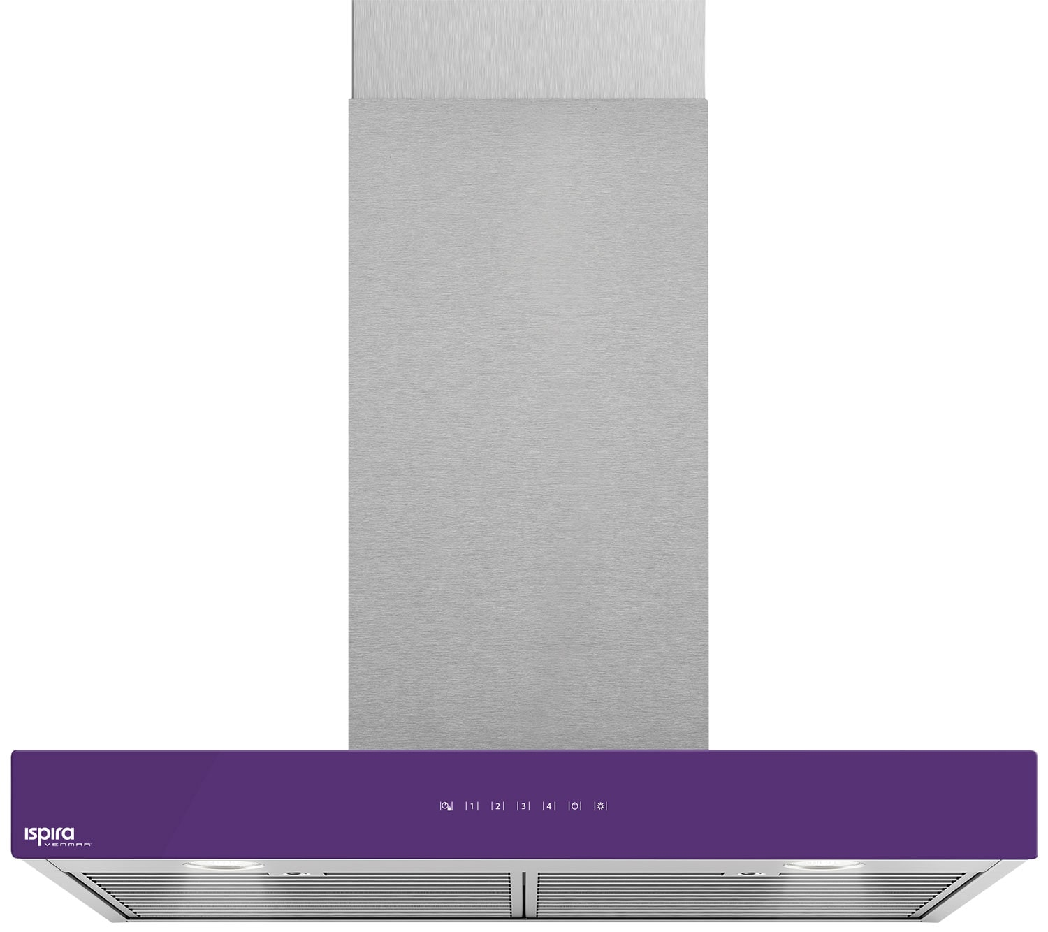 "Venmar Ispira 36"" Chimney Range Hood – Purple"