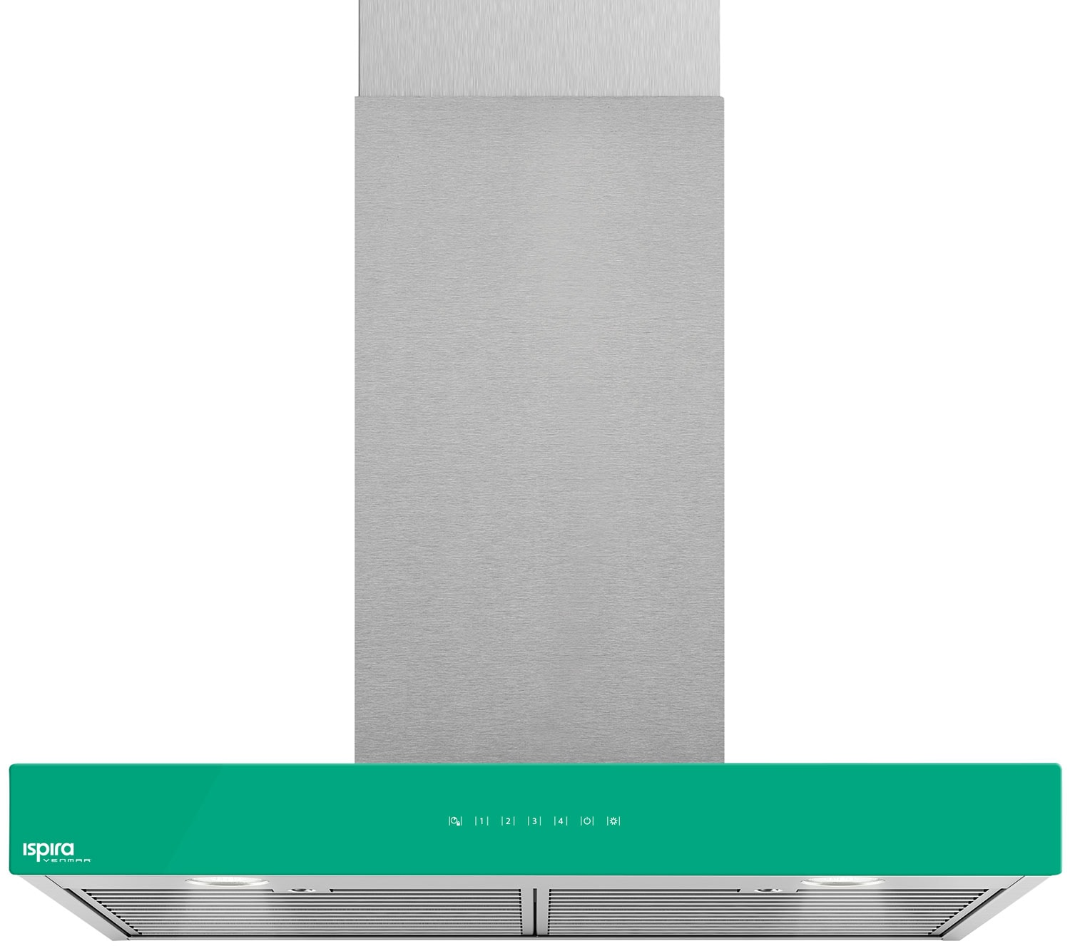 "Venmar Ispira 30"" Chimney Range Hood – Emerald Green"