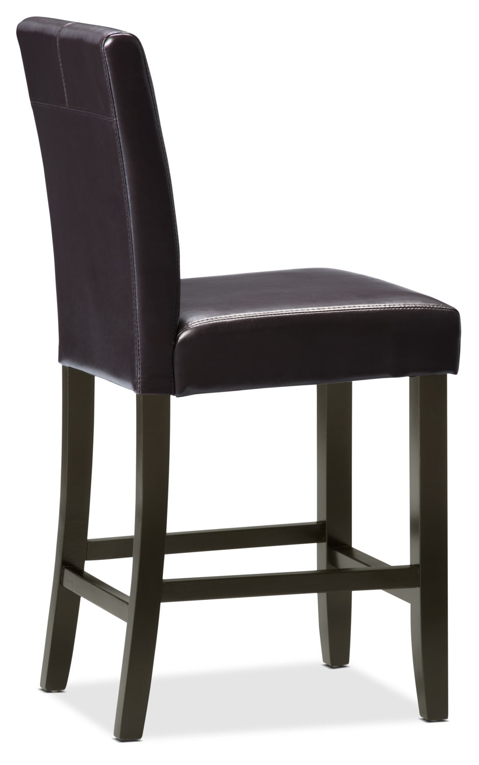brown counter height dining chair the brick
