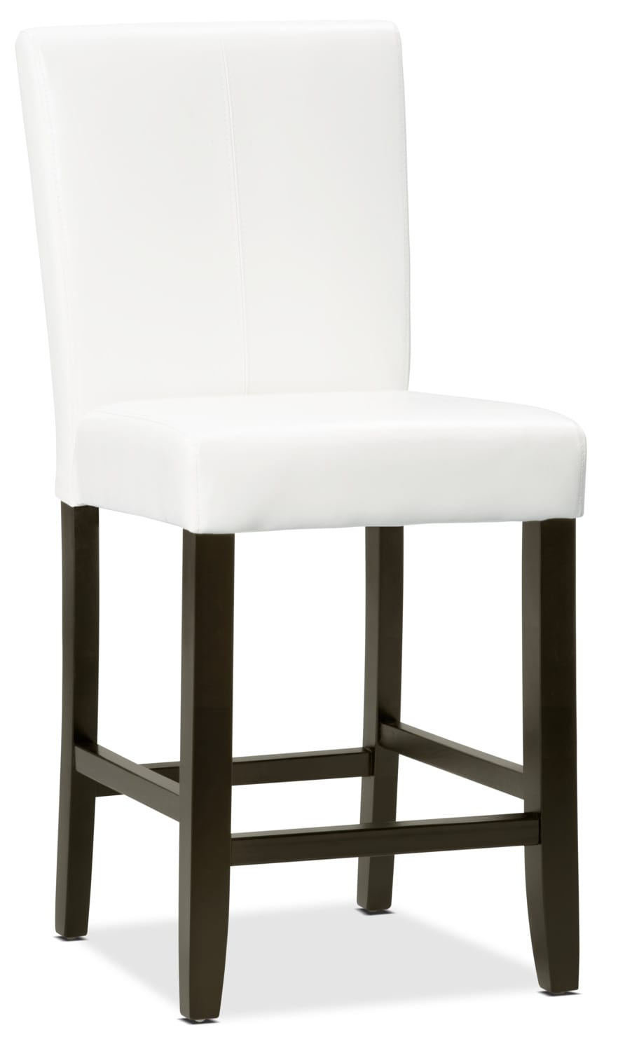 White Counter-Height Dining Chair