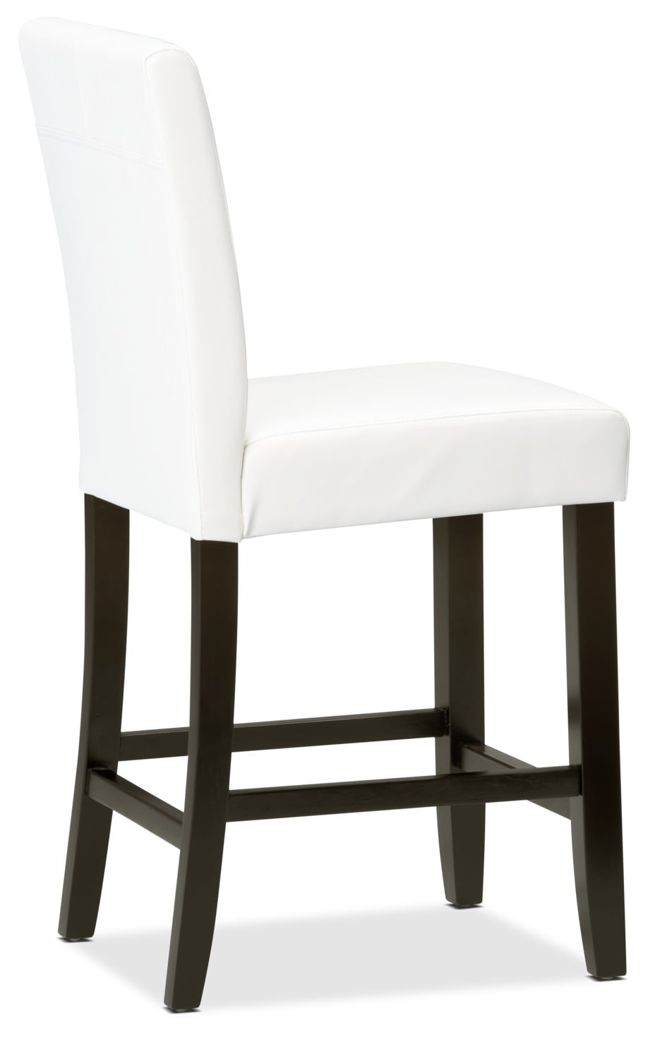 white counter height dining chair the brick