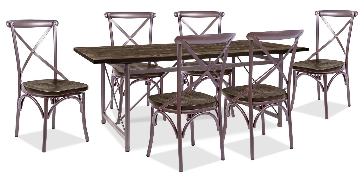 Dining Room Furniture - Cassidy 7-Piece Dining Package