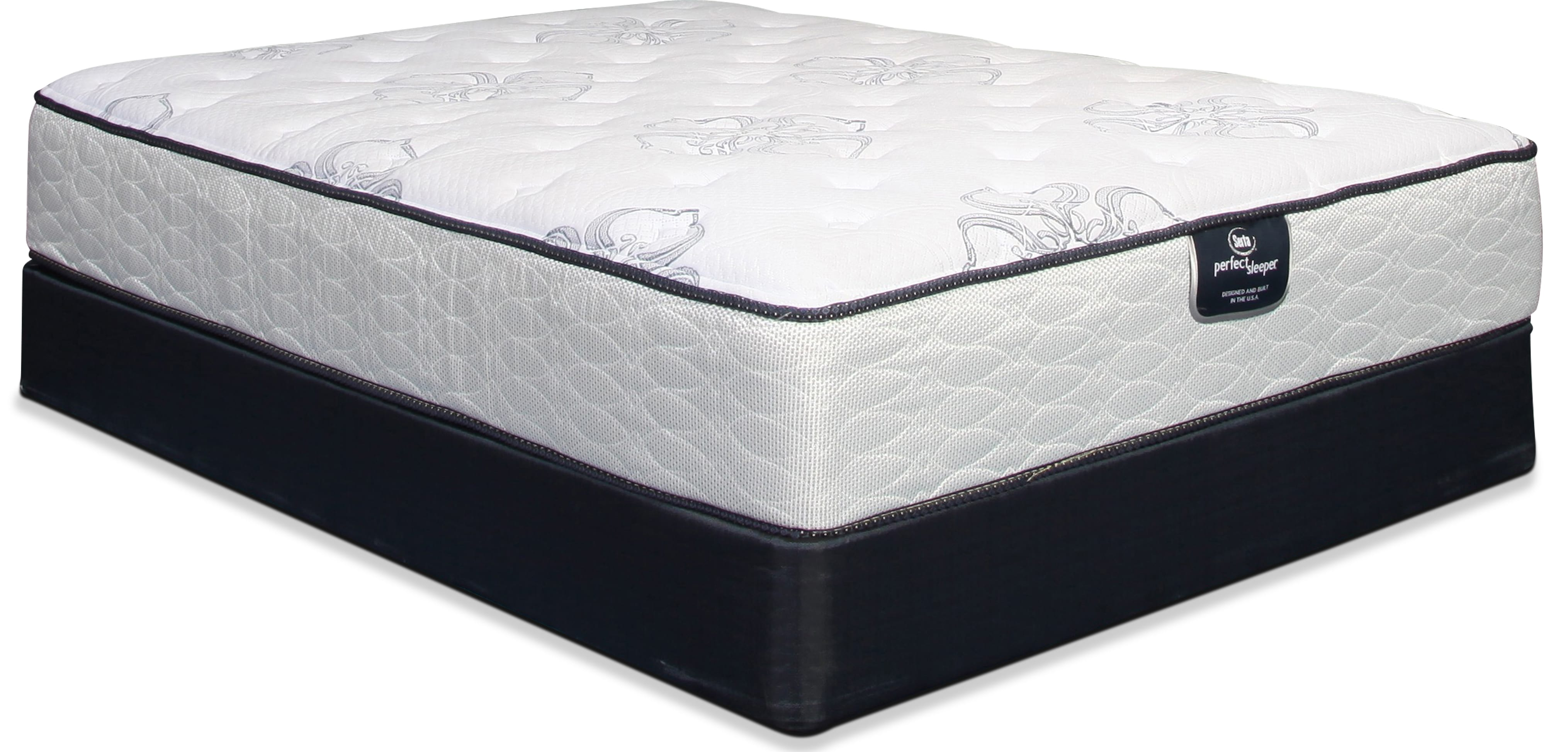 Serta Perfect Sleeper Plush California King Mattress and Split Boxsprings