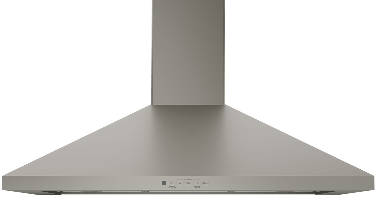 "GE 36"" Wall-Mount Pyramid Chimney Range Hood – JVW5361EJESC"