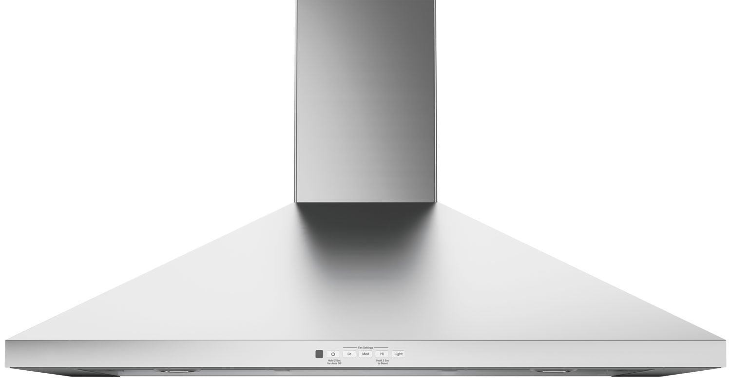 "GE 36"" Wall-Mount Pyramid Chimney Range Hood – JVW5361SJSSC"